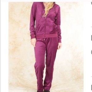 Plus Size Maroon Black NavyJogging Suit Sweatsuits